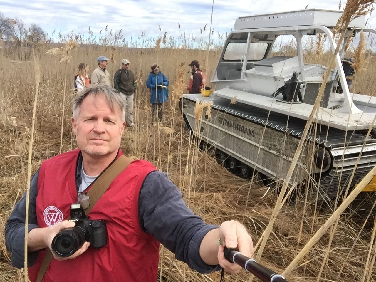 Selfie, JHTD with Marsh Master in the Background 2017