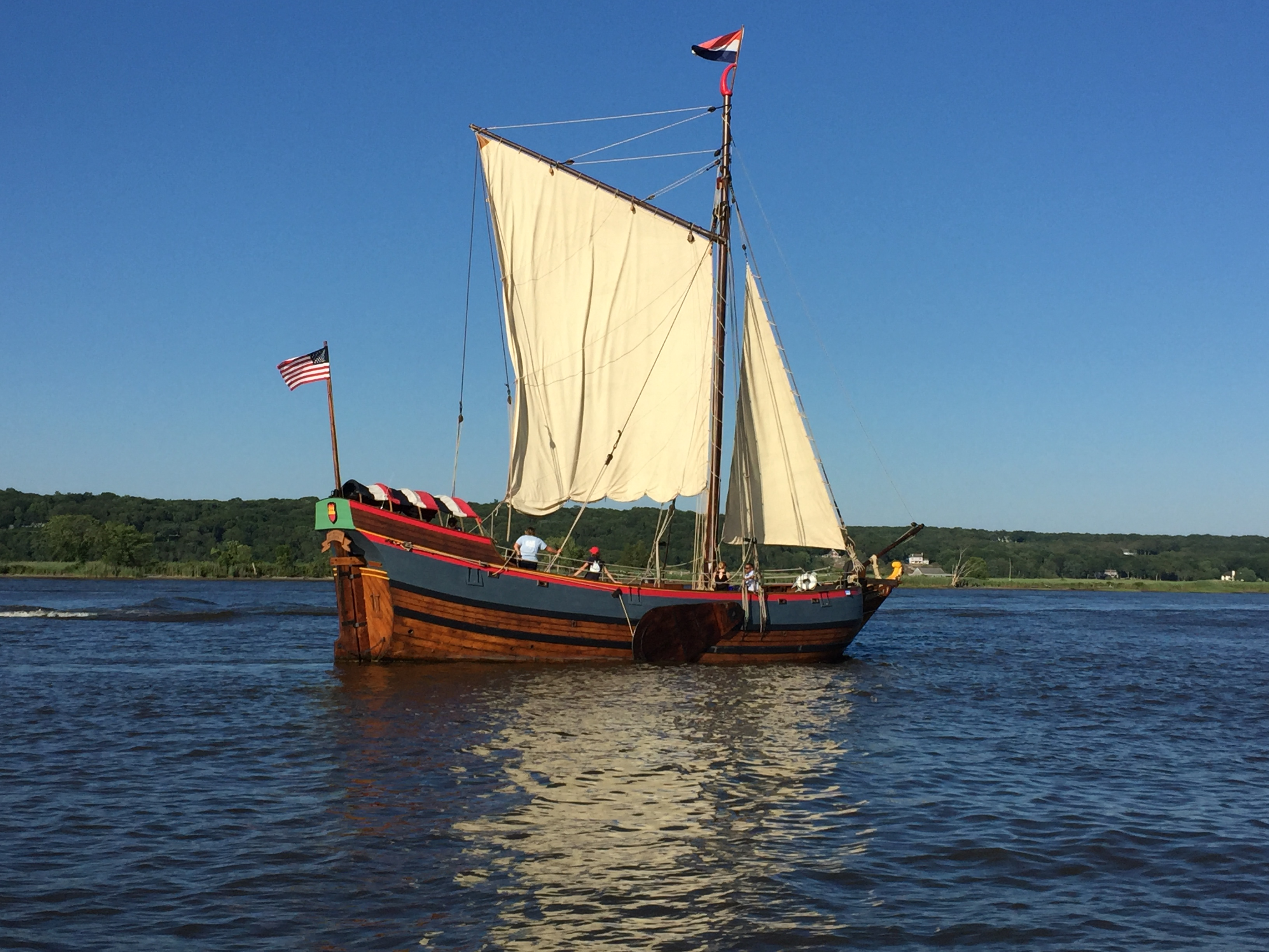 Onrust on CT River, 2017