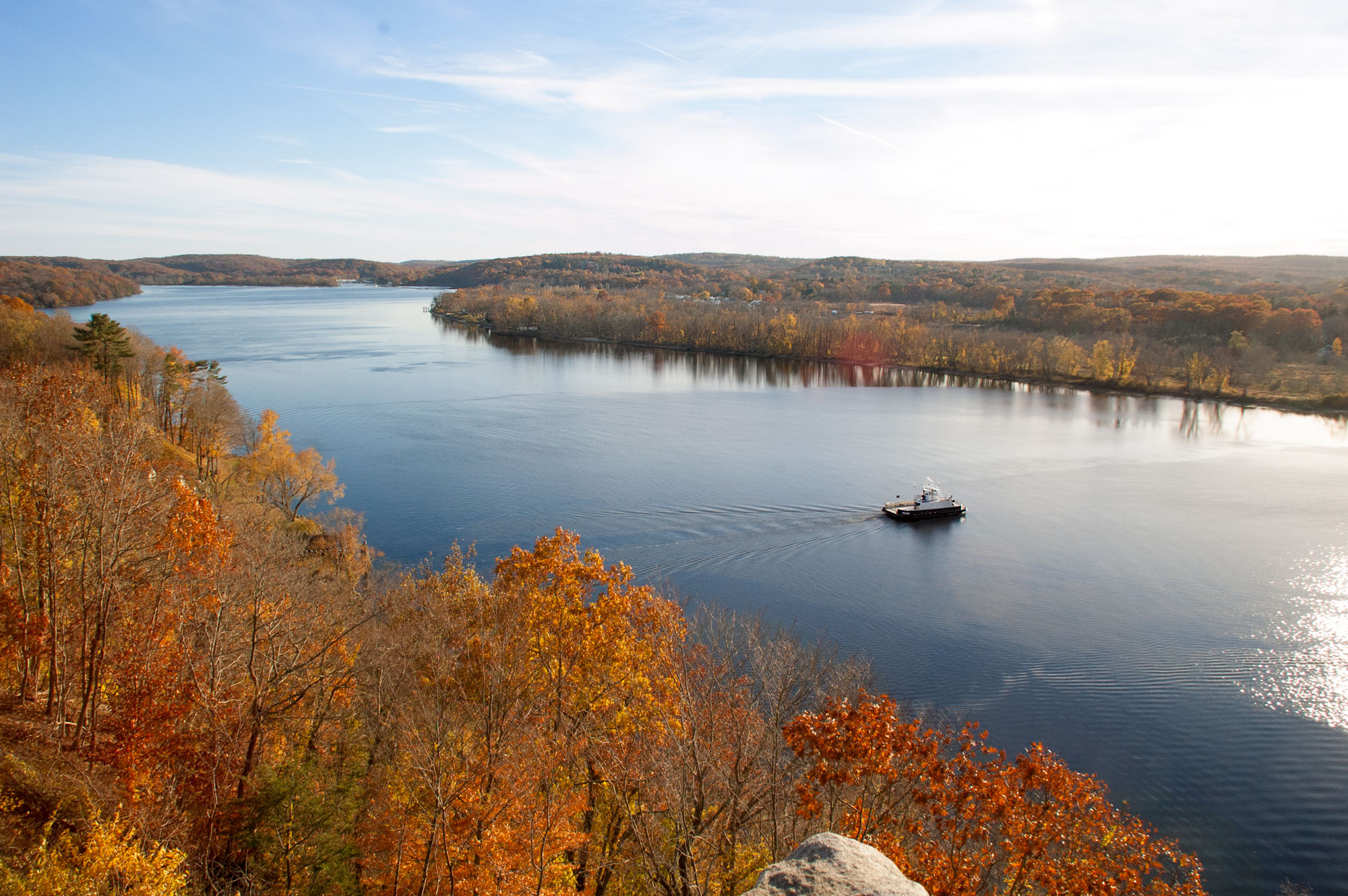 Fall Foliage from Gillette's Castle 2016