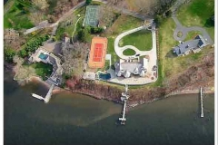 Aerial View of CT River Residential Development
