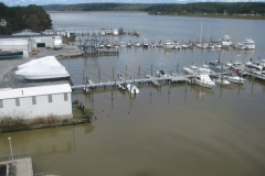 Lower CT River in Saybrook After Tropical Storm Irene 2011