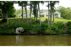 Well-hidden House on CT River